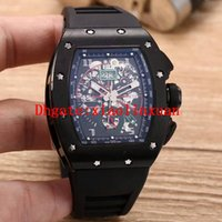 Wholesale green natural products - 2018 new fashion products AAA quality 11-02 men's multi-function watch XTC mechanical automatic winding 41 mm natural rubber men's watch