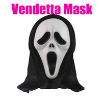 Wholesale Vendetta Resin - 2015 New Arrive V for Vendetta Yellow Mask with Eyeliner Nostril Anonymous Guy Fawkes Fancy Adult Costume Halloween Mask D168