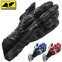 Wholesale Motorcycle Gloves Taichi - Wholesale-RS Taichi GP-EVO Racing Gloves Motorcycle Racing Gloves ATV Motobike Motocross Gloves BMX MX gloves