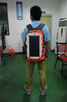 Wholesale Gps Box Packing - Solar Backpack, Solar Panel Bag, PET Materials, with 1000mAh Power Battery Pack Charge for Smart Cell Phones, Tablets, GPS, eReaders, Spe