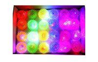 Wholesale Light Up Hedgehog Balls - Flashing Light Up Spikey High Bouncing Balls Novelty Sensory Hedgehog Ball free shipping TY146