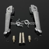 Wholesale Yamaha R6 Foot Pegs - Chrome Footrest Foot Pegs Front Left & Right For Yamaha 198-2011 YZF R1 99-2011 R6 order<$18no track