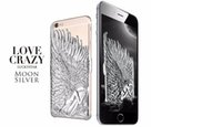 Wholesale Korean Mobile Phone Case - hot sale Luxury New Luckystar Angel Wings Korean Style Mobile Phone Back Case For iPhone 6 6 Plus Electroplating Cover Case Skin