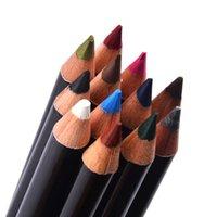 Wholesale Eyeliner Tattoo Pen - 600Pcs Colorful Cosmetics Makeup Pen Eyebrow Eye Liner Lip and Eye Liner Tattoo Makeup Set hot sale waterproof eyeliner pencil