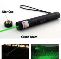 Wholesale Battery Powered Laser - High Power 532nm Laser 303 Pointers Laser Pen Green Safe Key Without Battery And Charger Free Shipping