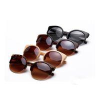 Wholesale Cheap Retro Cat Eye Sunglasses - For Promotion Cheap Sunglasses Wholesale Retro Vintage Fashion Sun glasses for Men Women Brand Designer Glasses .L162A