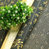 Wholesale Chinese Photography Background - Wholesale-Chinese calligraphy style retro background cloth background fabric shop tea Fozhu photography props shooting pictures