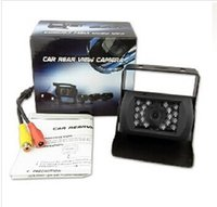 Wholesale Sharp Ccd Car - Sharp Color CCD Camera Backup Car Rearview IR Night Cam Free shipping