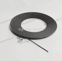 Wholesale Order Cell Phone Screens - 2mmX 10m Double Sided Adhesive Black Foam Tape for Cell Phone Repair Gasket Screen PCB Dust Proof (0.3mm Thick) order<$18no track