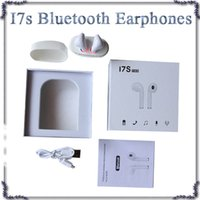 Wholesale Headphone Case Mic - HBQ I7S TWS Mini Bluetooth EarbudS Headphones Headset With Mic bluetooth Earphone for Iphone Android With Charging case 770017-1