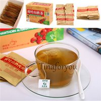 Wholesale Natural Slimming Chinese Lotus Leaf Hawthorn Tea Weight Loss Diet Burn Fat Health Care Box