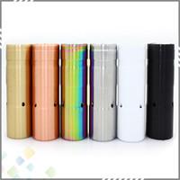 Wholesale Le Battery - Newest Le Petit Gros Mod 86 mm Length Mechanical Mod for 18650 Battery 6 Colors E Cigarette fit 510 RDA Atomizer Vaporizer DHL Free