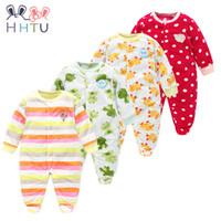 HHTU Baby Pagliaccetti Vestiti a maniche lunghe tute per neonati Boy Girl  Polar Fleece Abbigliamento bambino per l autunno   inverno 8f92ca1e780