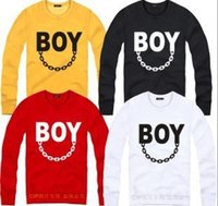 Wholesale Selling Boy London - Wholesale-HOT SELLING!!! hight quality long-sleeve Bigbang eagle london boy lovers design