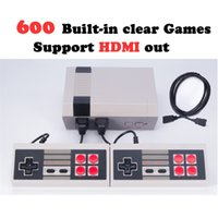 Wholesale Video Camera Interface - HDMI Out Retro Classic Game TV Video Handheld Game Console Built-in 600 Classic Games Interface NES game console