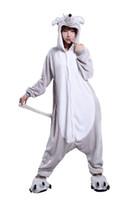 Wholesale Fancy Pajamas - Mouse characters Unisex Adult Fancy Dress Jumpsuit Dress Up Cosplay Costume Pajamas