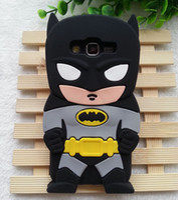 Wholesale 3d Black Batman Case - 1PCS Cute 3D Cartoon Batman Soft Silicone Case Cover For Samsung Galaxy Grand Prime G530 G530H Cell Phone Cases Wholesales