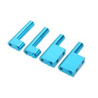 Wholesale Rc Radio Parts - 102003 Upgrade Parts Aluminum Radio Servo Tray Post for 1 10 HSP RC Cars order<$18no track