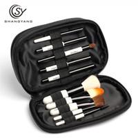 Wholesale Travel Size Makeup Brushes - Sy Professional Mini Size Makeup Brush Set for Cosmetic Beauty Tools Portable Travel Brushes Make Up Brush Kits