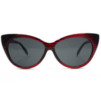 Wholesale Tip Pointed Vintage Sunglasses - Wholesale-Hot Sale New Womens Tip Pointed Classic Cat Eye Glasses Fashion Shades Vintage Retro Sunglasses 4 Colors Drop Shipping