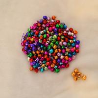 Wholesale Handmade Iron Ornaments - Colorful Iron Loose Beads Small Jingle Bells Christmas Decoration Pendants DIY Crafts Handmade Accessories TT23
