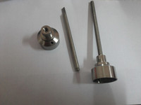 Wholesale grade ti nail female for sale - Domeless Titanium Ti Nail mm mm Male Female Carb Cap Dabber Grade for Smoking Glass bong