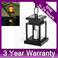Wholesale Hanging Led Pool Light - Waterproof Solar Lamp Vintage Hanging Umbrella Lantern with LED Candle Lights with Clamp for Beach Umbrella Tree Pavilion Garden order<$18no