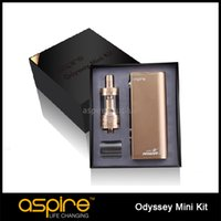 Wholesale Wholesale Clearence - In Clearence ! Original Aspire Odyssey Mini Starter Kit TC Mods Pegasus Mini and Triton Mini Tank 50W Aspire Quest Kit for UK Market