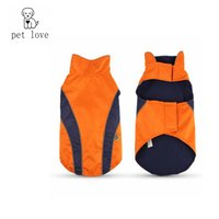Wholesale Pp Sport Coat - Pet_love new pet clothes winter jacket golden sports suit big dog clothes leisure time warm and comfortable