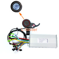 Wholesale electric motor speed controller - 450W~1000W Electric Brushless Motor Controller Thumb Throttle With LCD Screen Electric Scooter Speed Controller And Accelerator