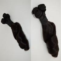 melhores cabelos humanos venda por atacado-Barato tia funmi tecelagem do cabelo best selling 3 pcs lot caracol bouncy cabelo funmi peruano virgem cabelo humano tias tia funmi onda G-EASY