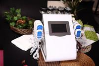 Wholesale Cavitation Lipolaser - NEW tech 40k Cavitation Ultrasonic Vacuum RF 8Pads LLLT LipoLaser Slimming Machine wrinkle remover skin care beauty equipment