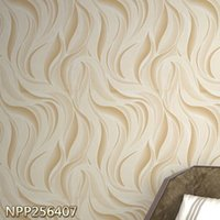 Wholesale Embossed Silk Fabric - High-End Luxury silk mural 3d wall paper fabric 3d wallpaper TV background flocking embossed wallpapers for bedroom DIY stickers