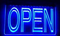 tienda de barra de luz al por mayor-LS004 ABIERTO noche a la mañana barra de la tienda del club del Pub luz de neón