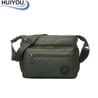 Wholesale Ancient Army - Wholesale-Business casual ancient pool nylon waterproof shoulder bag fashionable man bag in bag