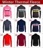 Wholesale High Quality Thermal Fleece Cycling - 2017 winter thermal fleece bicycle sports clothing jacket   9 styles warm long sleeve Cycling jersey   high-quality outdoor sports apparel