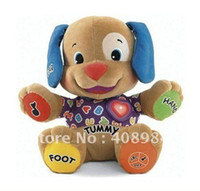 Wholesale Dog Laugh Learn - Laugh & Learn Baby Plush Musical Toys Music Dog Singing English Songs