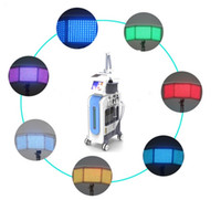 PDT LED terapia leggera Hydradermabrasion Microdermabrasion Microspirapolvere Microscopio BIO Microscopio Scrubber 7 IN 1 Hydrafacial Machine