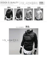 Wholesale Dust Free Clothes - Free Shipping 2014 NEW Hot High Collar Men's Jackets ,Men's Sweatshirt,Dust Coat ,Hoodies Clothes,cotton wholesale