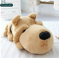 Wholesale giant plush toys for kids for sale - Group buy Dorimytrader Hot cm Cute Stuffed Soft Plush Lovely Giant Cartoon Dog Toy Nice Gift For Kids DY60733