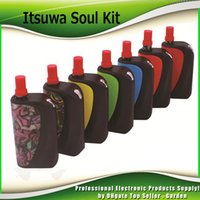 v3 mod vape großhandel-Original Amigo Itsuwa Soul Vape Starter Kits mit Liberty V1 0,5 ml Tank 1000 mAh Batterie Box Mod Liberty V3 V5 V7 V8 V9 Kit 100% Authentisch