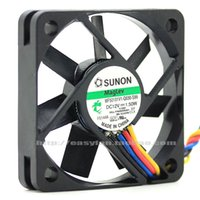 ingrosso fili di raffreddamento 12v-Originale Sunon MF50101V1-Q030-S99 5010 12V 1.50W 5cm ventola di raffreddamento PWM a quattro fili