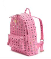 Wholesale Bag Oxford - 2017 New fashion women designer bags luxury designer backpack style famous M brand name shoulder bags big capacity