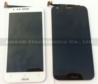 Wholesale Padfone Display - Wholesale-White LCD Screen Display Digitizer Touch Glass Assembly For ASUS Padfone 2 II A68