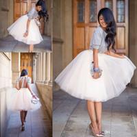 Wholesale Sexy Blue Tutu - New Tutu Skirts For Women 2016 Vintage Tulle Skirts Bridesmaid Tea Length Party Skirts Dresses Petticoat faldas de tul para mujer