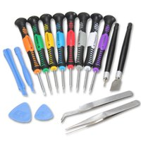 Wholesale Iphone Disassembly - 16 in 1 Opening Pry Tools Disassembly phone Repair tools Kit Versatile Screwdriver Set for iPhone 4 4S 5 HTC Samsung Nokia smartphone