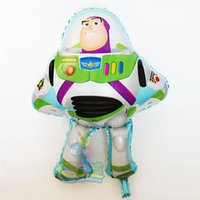 Wholesale Buzz Toy Story - 50cm*75cm Buzz Lightyear balloons for toy story globos party baloon decoration toy story foil balloons baby birthday gift classic toys