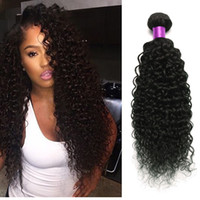 Wholesale Virgin Hair Weave Sale - Brazilian Curly Virgin Hair Weaves 3 Bundles Curly Human Hair Extensions Brazilian Hair Wefts Virgin Brazilian Curly Weaves On Sale