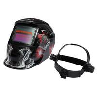 Wholesale arc auto - Wholesale Cool Pro Auto Darkening Welding Helmet Arc Tig mig Grinding Welders Protection Mask Hat MAC_10Q