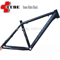 Wholesale Cube Road Bike Frame - Wholesale-Clearance special Germany CUBE LTD ultra light MTB mountain bicycle frame Matte Black